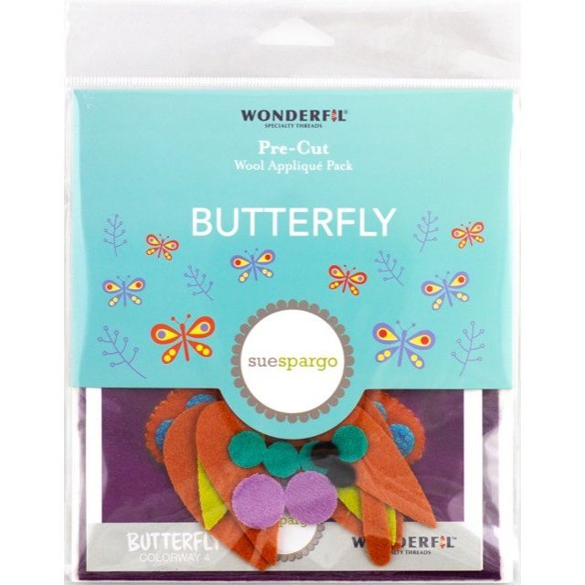 | Wool Applique Pack Butterfly-4