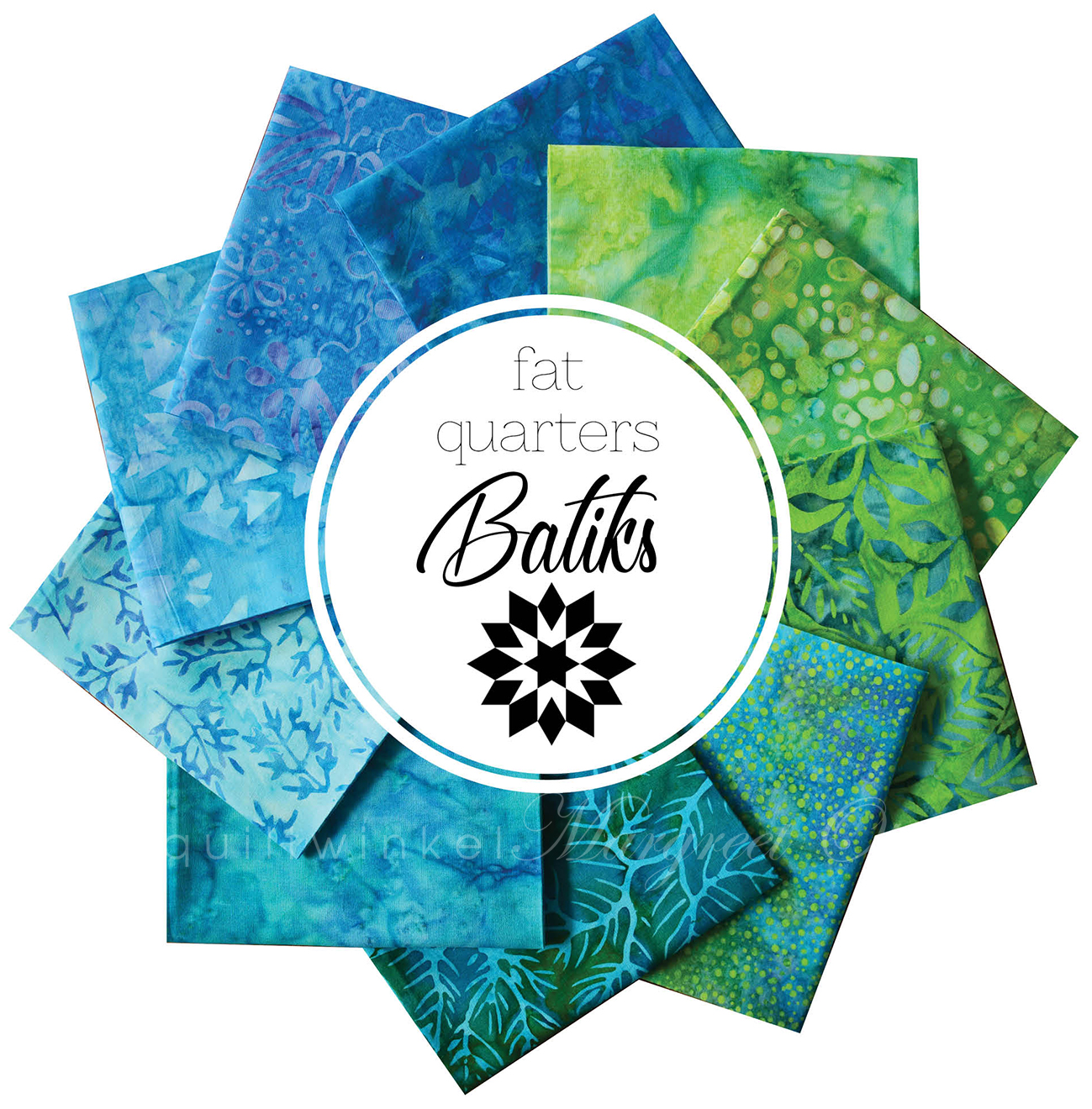 Fat Quarters Batiks-014