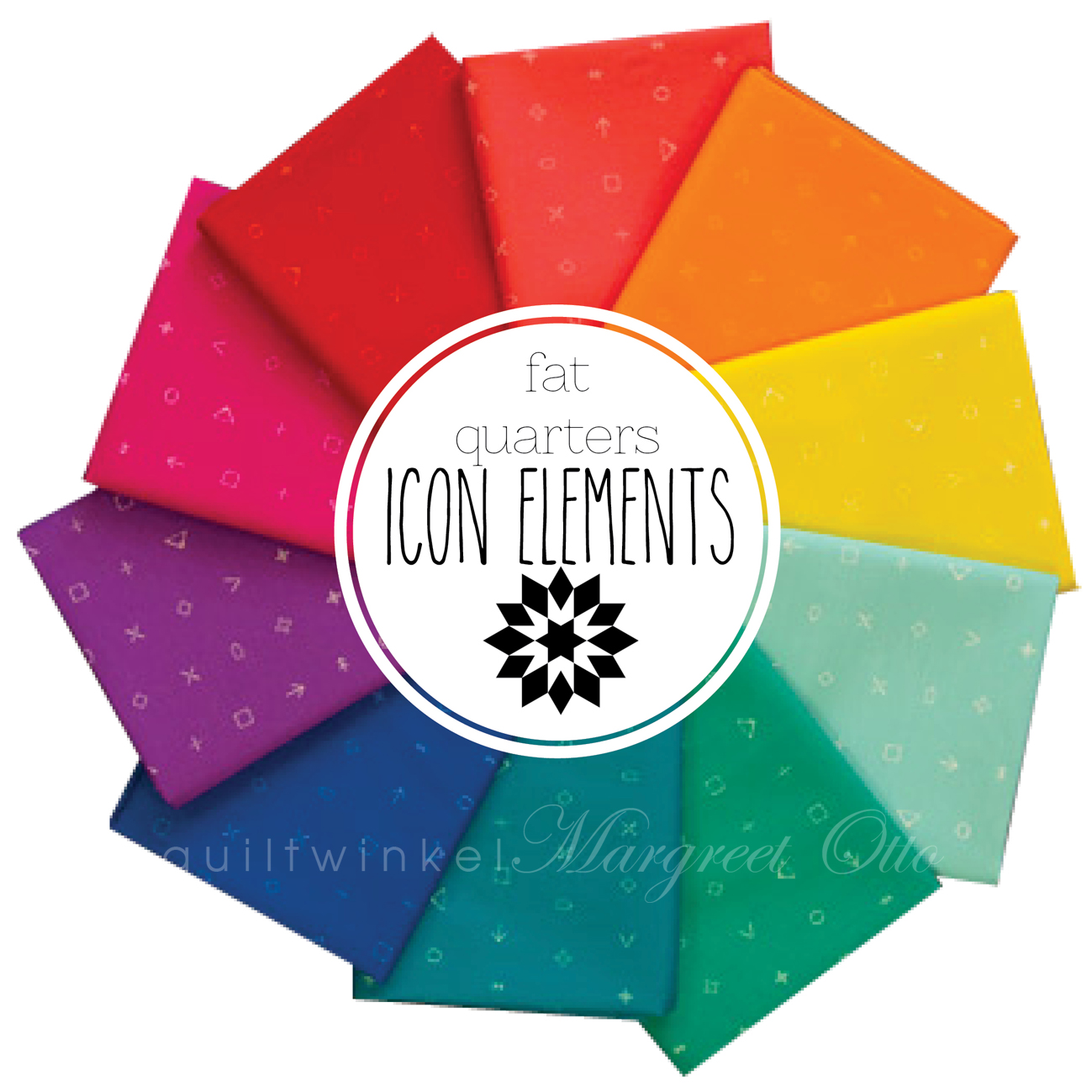 Fat Quarters Icon Elements