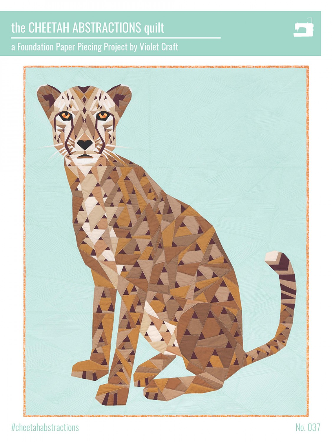 Patroon The Cheetah Abstractions Quilt