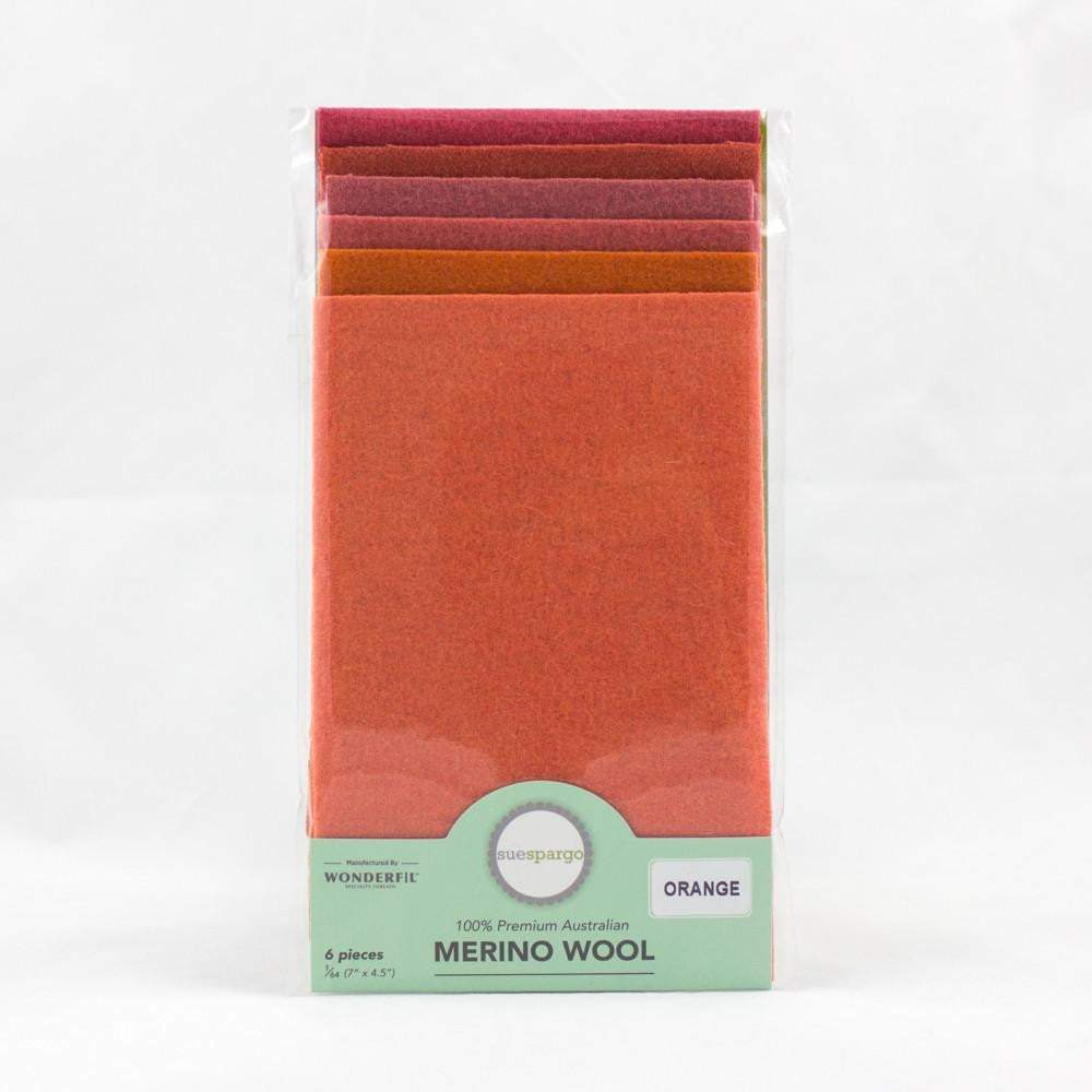 Sue Spargo Merino Wool Pack Orange
