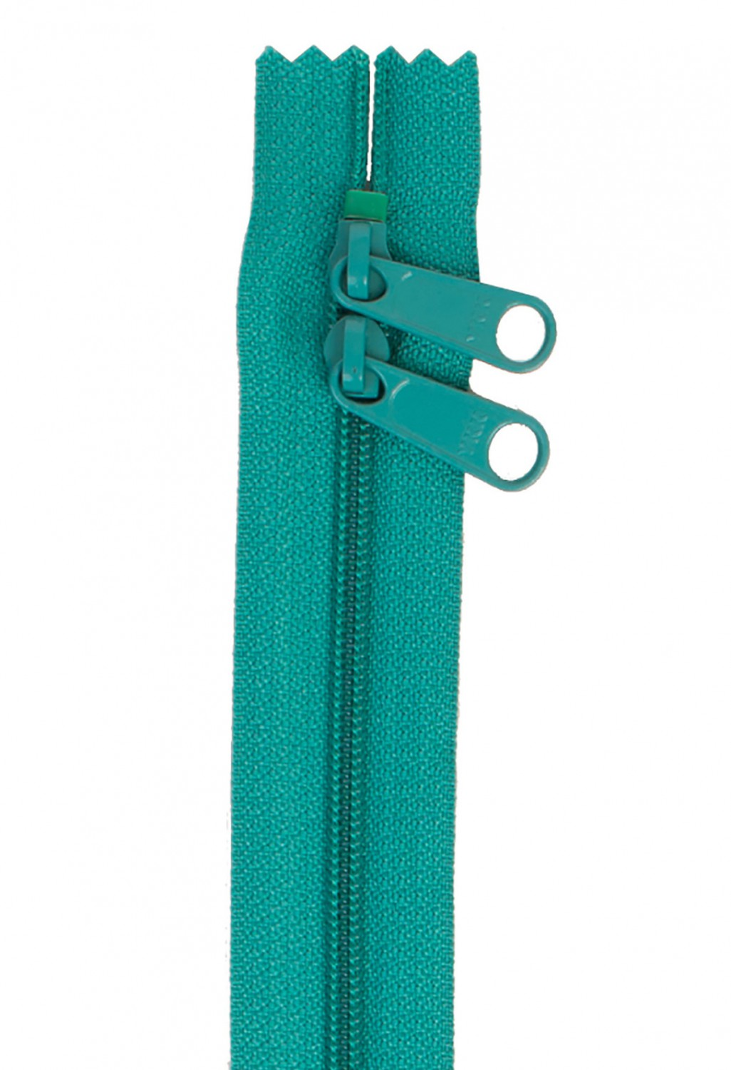 Handbag zipper 30inch-emerald 204