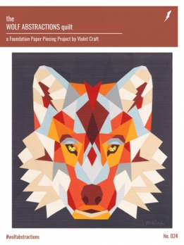 Patroon The Wolf Abstractions Quilt