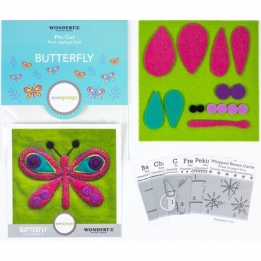 | Wool Applique Pack Butterfly-2