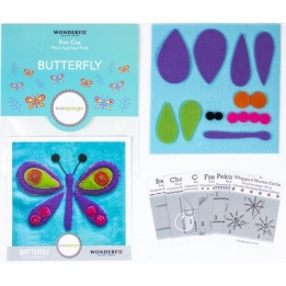 | Wool Applique Pack Butterfly-3