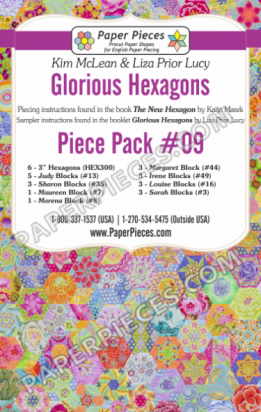Glorious Hexagons set 9