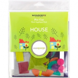 Wool Applique Pack House-4